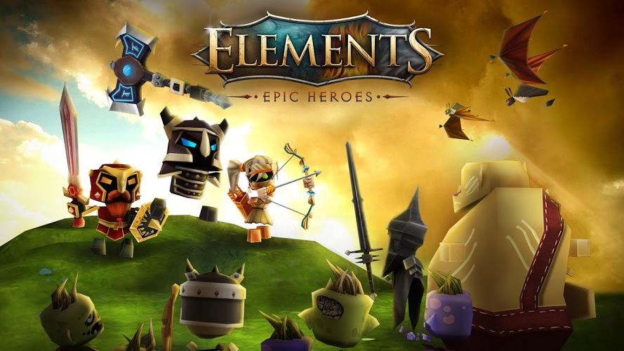 Elements: Epic Heroes – hack and slash MMO